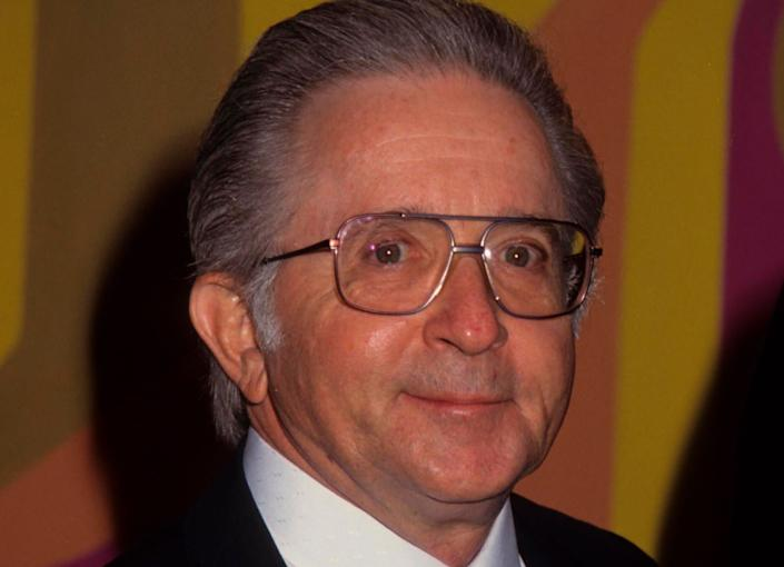 """Arte Johnson, who won an Emmy for his work on the 1960s television show """"Rowan & Martin's Laugh-In,"""" died on July 3, 2019. He was 90."""