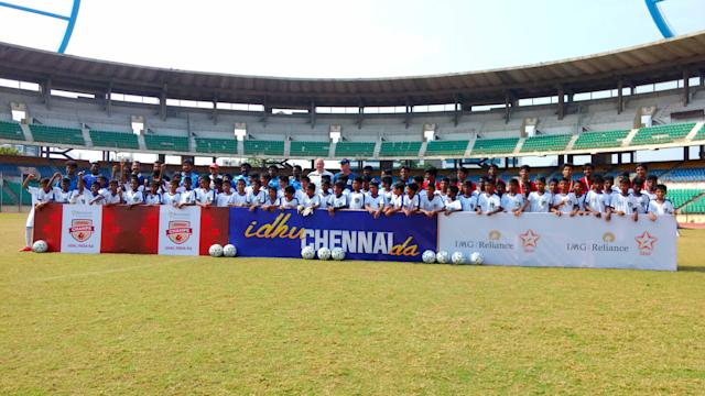 After selection trials held all over the country we finally see the kids assembled in Mumbai for five days of intensive training...