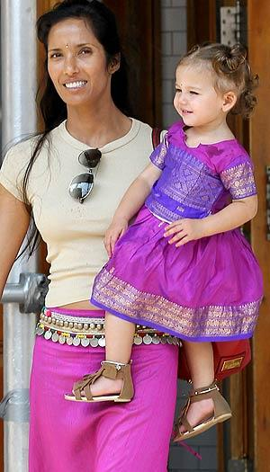 Padma and daughter Krishna. Christopher Peterson/BuzzFoto/FilmMagic.com