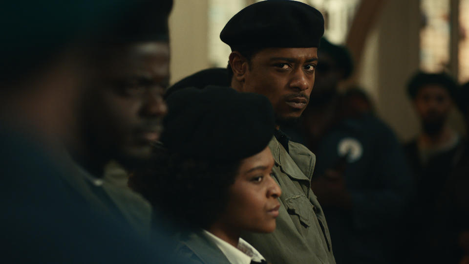 Lakeith Stanfield as FBI informant William O'Neal in 'Judas and the Black Messiah'. (Credit: Warner Bros)