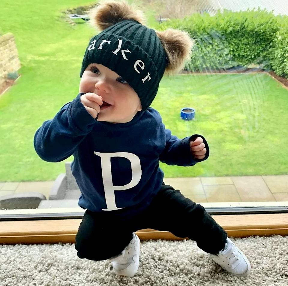 Parker's page was set up when he was eight months old and the toddler now has over 16K followers [Photo: SWNS]