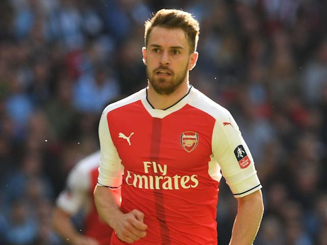 Aaron Ramsey wants to win the famous old trophy for his manager: Getty