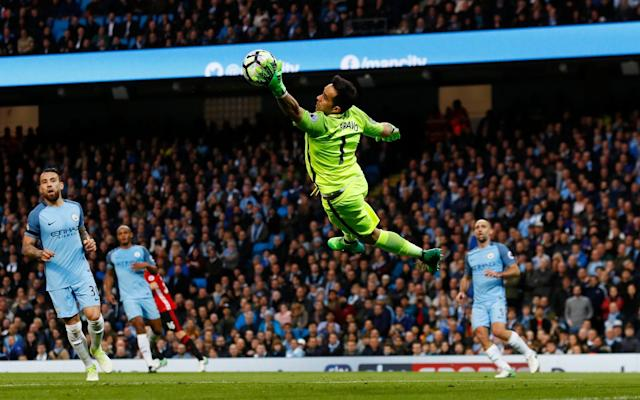 <span>Claudio Bravo failed to impress again</span>
