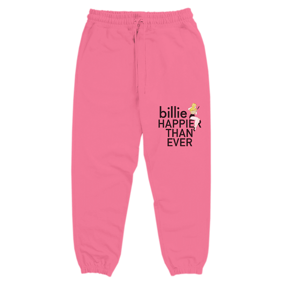 <p><span>Billie Eilish Pretty Boy Sweatpants</span> ($120)</p>