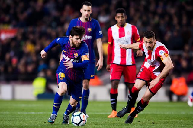 Lionel Messi and Barcelona will face Girona in Miami