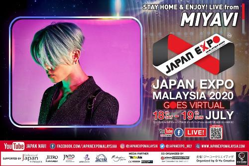 Remember to tune in to Miyavi's performance this Sunday!