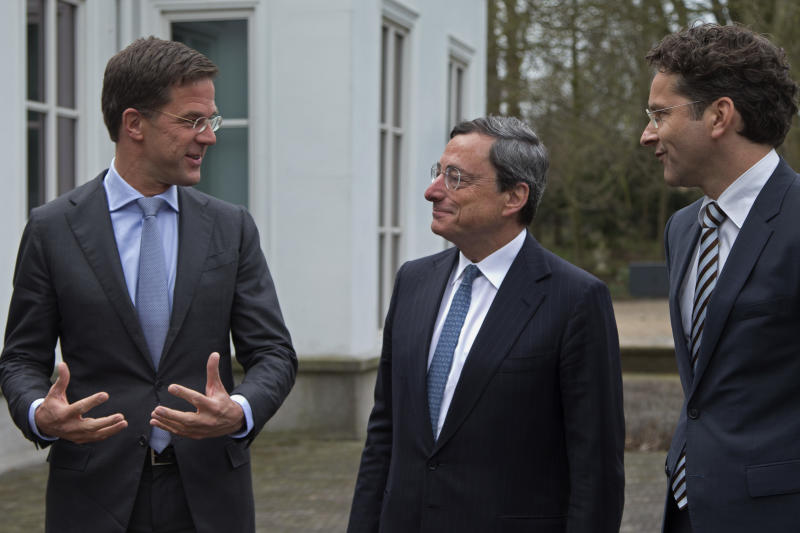 Draghi urges quick action on bank authority