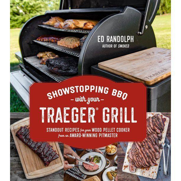 """<p><strong>Ed Randolph</strong></p><p>walmart.com</p><p><strong>$16.62</strong></p><p><a href=""""https://fave.co/2XcQoFJ"""" rel=""""nofollow noopener"""" target=""""_blank"""" data-ylk=""""slk:BUY NOW"""" class=""""link rapid-noclick-resp"""">BUY NOW</a></p><p>If you've recently purchased a Trager grill and smoker, consider this your second handbook. It features recipes like Beer Can Chicken and slow-smoking Maple-Bourbon Pork Belly plus a guide to simply creating the best hamburger possible. Expect professional results, because these guys are, well, grilling professionals. </p>"""