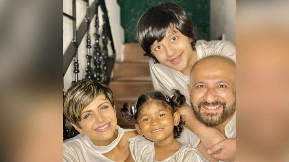 A blessing from above: Mandira Bedi adopts 4-year-old daughter