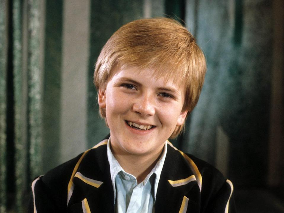 Choirboy Aled shot to fame at the age of 12. Copyright: [Rex]