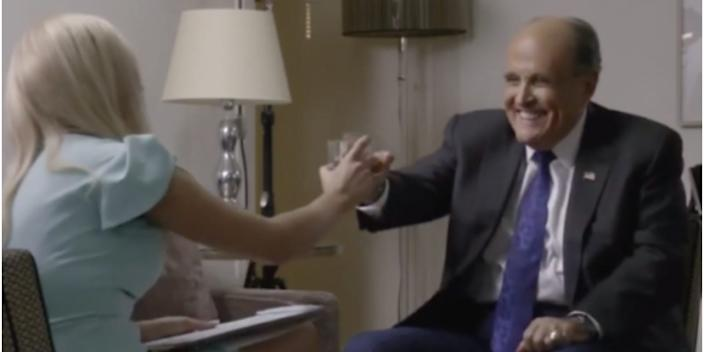 Borat 2 Rudy Giuliani interview