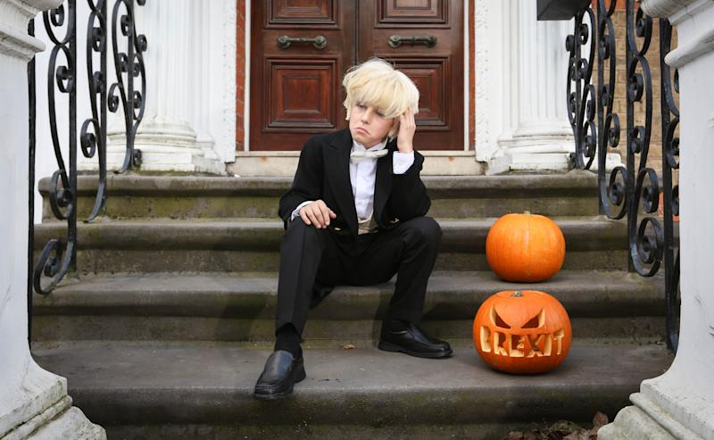 Boris Johnson is proving popular with parents for Halloween this year [Photo: Matt Alexander/PA Images]
