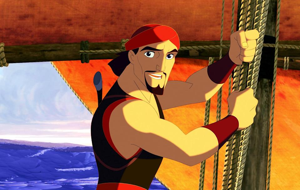"""<p><strong>Hulu's Description:</strong> """"Sinbad the sailor must retrieve the stolen Book of Peace from a goddess with a penchant for chaos in this mythological animated tale.""""</p> <p><span>Stream <strong>Sinbad: Legend of the Seven Seas</strong> on Hulu!</span></p> <h2>More Kids' Movies You Can Stream on Hulu</h2> <ul> <li><span><strong>12 Dog Days Till Christmas</strong></span></li> <li><span><strong>A 2nd Chance</strong></span></li> <li><span><strong>A Stork's Journey</strong></span></li> <li><span><strong>A.C.O.R.N.S: Operation Crack Down</strong></span></li> <li><span><strong>Animaniacs: Wakko's Wish</strong></span></li> <li><span><strong>Barbie: Mariposa & Her Butterfly Fairy Friends</strong></span></li> <li><span><strong>Barbie: The Pearl Princess</strong></span></li> <li><span><strong>Barbie & Her Sisters in the Great Puppy Adventure</strong></span></li> <li><strong><span>Big Time Movie</span></strong></li> <li><strong><span>Curious George: A Halloween Boo Fest</span></strong></li> <li><span><strong>Curious George: A Very Monkey Christmas</strong></span></li> <li><span><strong>Curious George: Royal Monkey</strong></span></li> <li><span><strong>Curious George 2: Follow That Monkey!</strong></span></li> <li><span><strong>Curious George 3: Back to the Jungle</strong></span></li> <li><span><strong>Daphne & Velma</strong></span></li> <li><strong><span>Dr. Seuss: Dr. Seuss on the Loose</span></strong></li> <li><span><strong>Hey Arnold! The Jungle Movie</strong></span></li> <li><span><strong>How to Train Your Dragon: Snoggletog Log</strong></span></li> <li><span><strong>My Little Pony: A Very Minty Christmas</strong></span></li> <li><span><strong>My Little Pony: The Princess Promenade</strong></span></li> <li><span><strong>My Little Pony Crystal Princess: The Runaway Rainbow</strong></span></li> <li><span><strong>Pokémon the Movie: Diancie and the Cocoon of Destruction</strong></span></li> <li><span><strong>Pokémon the Movie: Hoopa and the Clash of Ages</strong></sp"""