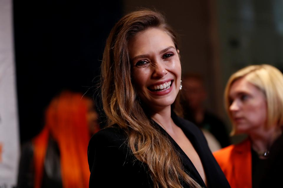Actor Elizabeth Olsen arrives for the premiere of Sorry for Your Loss during the Toronto International Film Festival (TIFF) in Toronto, Ontario, Canada, September 8, 2018.  REUTERS/Mario Anzuoni