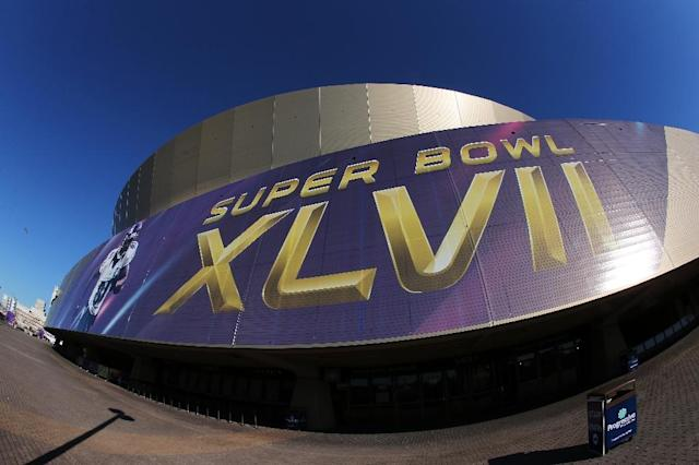 The Superdome in New Orleans, pictured in 2013, will stage the NFL Super Bowl in 2024 (AFP Photo/Christian Petersen)