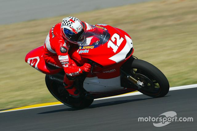 """#12 Troy Bayliss <span class=""""copyright"""">Gold and Goose / Motorsport Images</span>"""