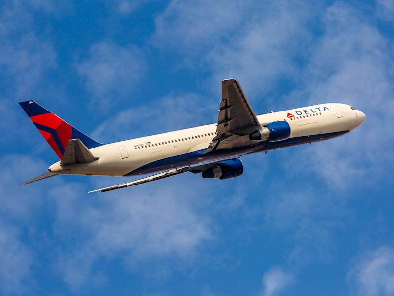 US agent was flying from Manchester, UK, to John F Kennedy airport on a Delta flight (file photo): Shutterstock
