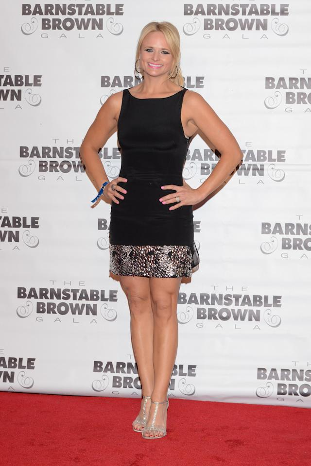 LOUISVILLE, KY - MAY 02: Miranda Lambert attends the Barnstable Brown Kentucky Derby Eve Gala at Barnstable Brown House on May 2, 2014 in Louisville, Kentucky. (Photo by Vivien Killilea/Getty Images)