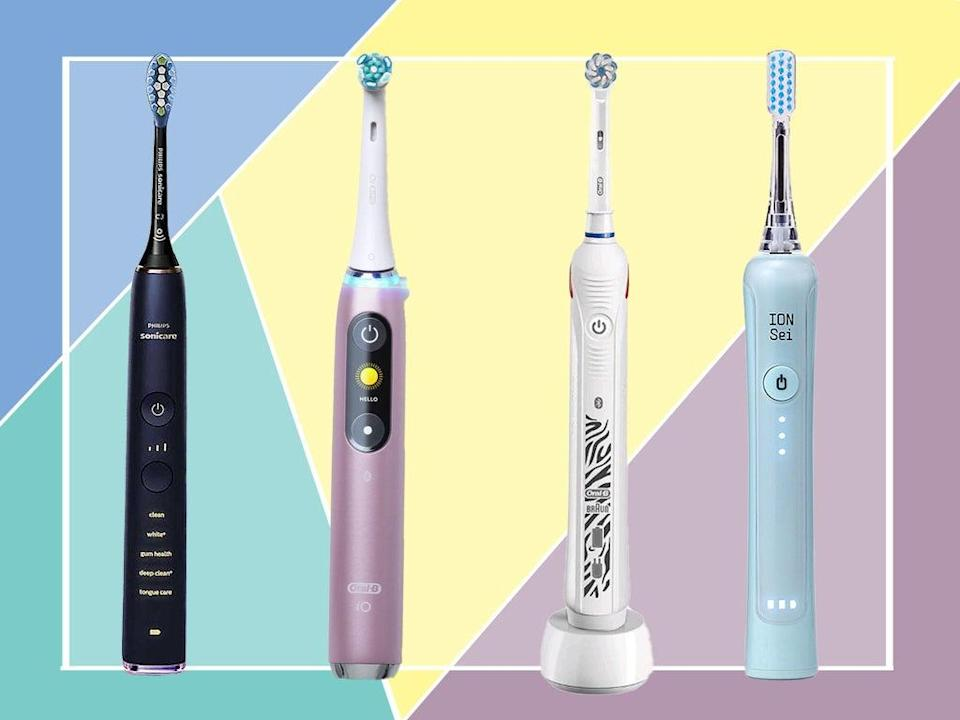 With pressure sensors, expert cleaning modes and timers, get the dentist experience at home (iStock/The Independent)