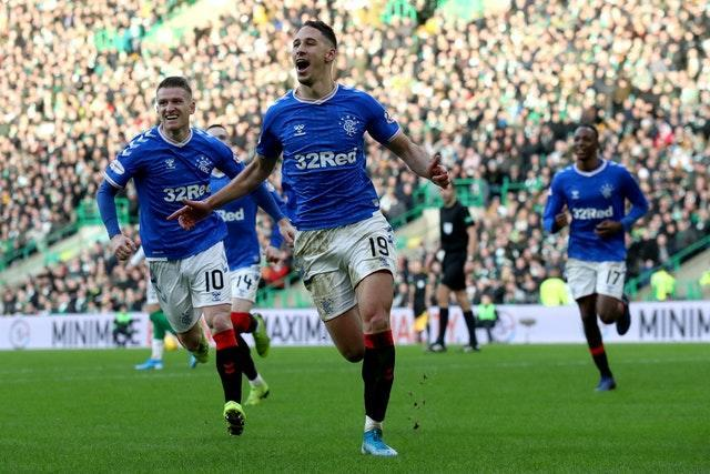 Nikola Katic sealed victory over Celtic at Parkhead 12 months ago - but Rangers could not build on that victory to win the title