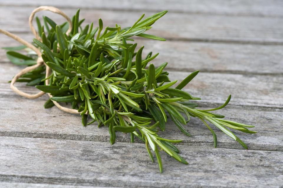 """<p>Tough herbs (rosemary, oregano and thyme, for example) are an entirely different story. These herbs should first be wrapped in a damp paper towel. This ensures the herbs retain moisture. Then, place them in a resealable plastic bag or other airtight container and <a href=""""https://www.thedailymeal.com/eat/time-food-lasts?referrer=yahoo&category=beauty_food&include_utm=1&utm_medium=referral&utm_source=yahoo&utm_campaign=feed"""" rel=""""nofollow noopener"""" target=""""_blank"""" data-ylk=""""slk:store them in your fridge"""" class=""""link rapid-noclick-resp"""">store them in your fridge</a>.</p>"""