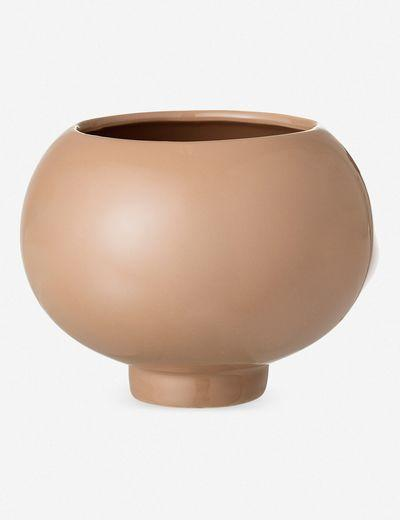 """The exaggerated bulb and tiny tapered base of this flower pot–which could certainly serve as home to a succulent–gives us a smile. $23, Lulu and Georgia. <a href=""""https://www.luluandgeorgia.com/elavie-flower-pot"""" rel=""""nofollow noopener"""" target=""""_blank"""" data-ylk=""""slk:Get it now!"""" class=""""link rapid-noclick-resp"""">Get it now!</a>"""