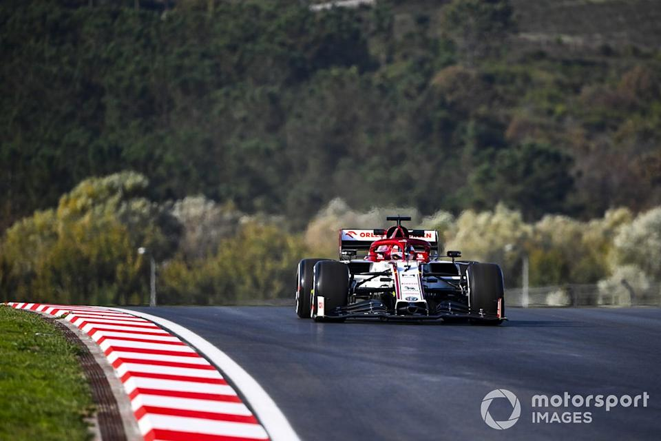 "Kimi Raikkonen, Alfa Romeo Racing C39<span class=""copyright"">Mark Sutton / Motorsport Images</span>"