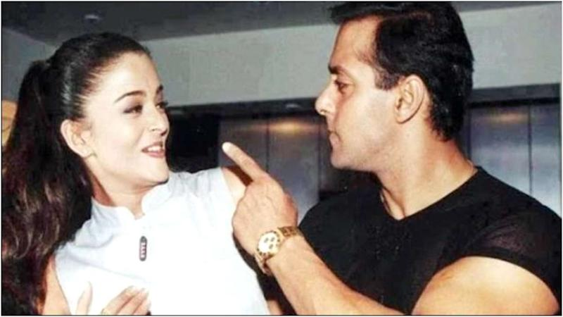 Salman Khan and Aishwarya Rai Bachchan.