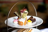 """<p>After you've worked up an appetite navigating York's cobbled streets, taking tea in the morning room of The Grange Hotel is just the ticket. Visit during afternoon tea week and they'll throw in a free glass of prosecco to wash down your scones, cakes and sandwiches. It costs £15.50 per person. </p><p><b><a rel=""""nofollow noopener"""" href=""""http://www.grangehotel.co.uk/"""" target=""""_blank"""" data-ylk=""""slk:Grangehotel.co.uk"""" class=""""link rapid-noclick-resp"""">Grangehotel.co.uk</a></b></p>"""