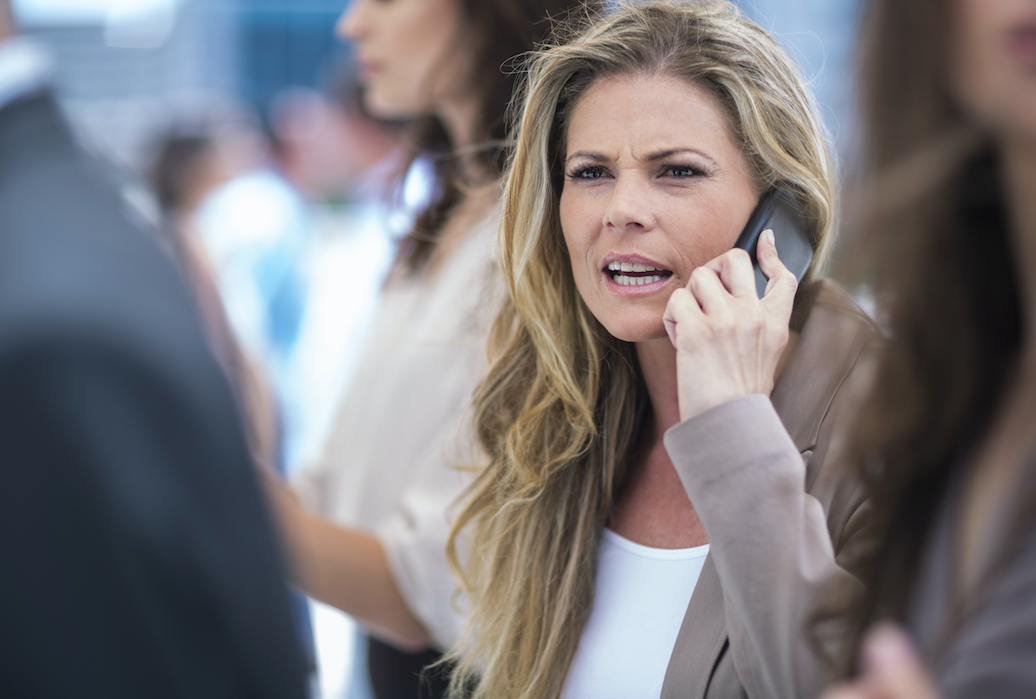 <em>Cold-callers are still bombarding consumers with nuisance calls (Rex/posed by model)</em>