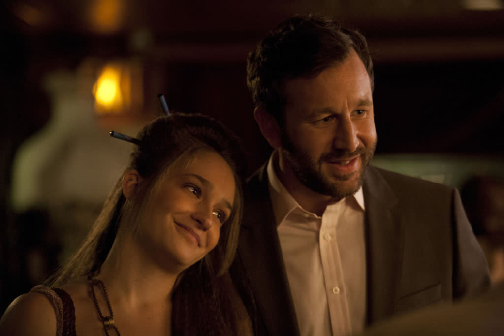 "Jemima Kirke and Chris O'Dowd in the ""Girls"" Season 2 episode, ""It's a Shame About Ray."""