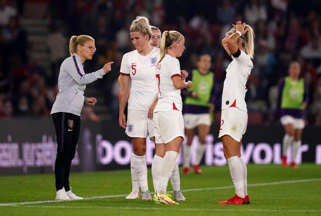 England Women got an insight into the high standards set to be demanded by Sarina Wiegman after she declared the performance