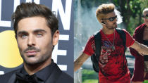 Harmony Korine's stoner comedy also gave the world this Zac Efron look. It's probably a good thing no one saw it. (Credit: Steve Granitz/WireImage/Blue Finch Films)