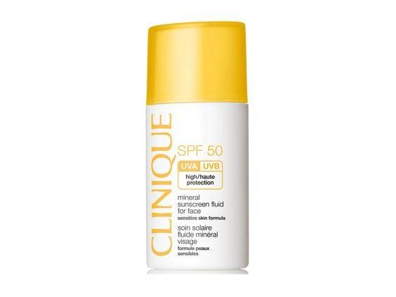 Protect your skin year-round with daily use of an SPF (Clinique)