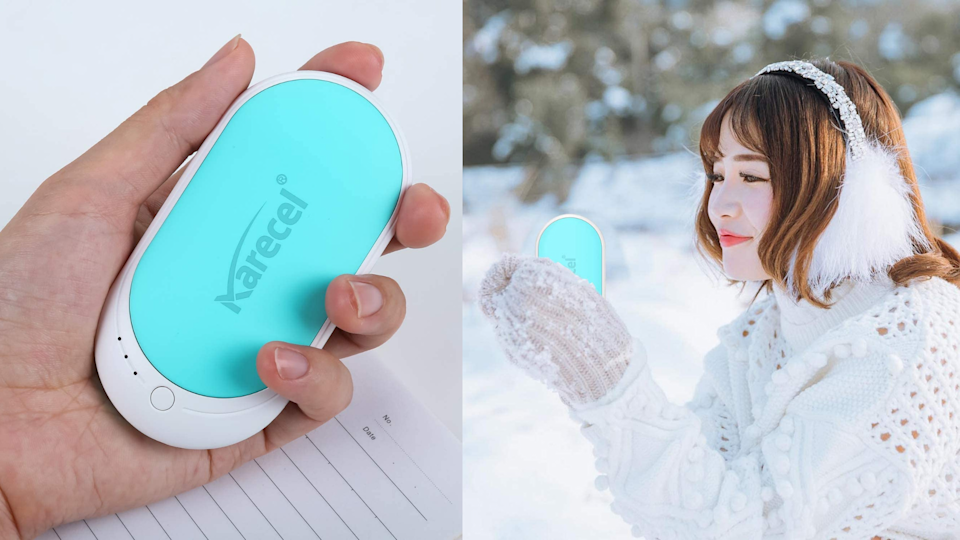 If you're someone who suffers with poor circulation in your hands or fingers during the winter, this Karecel hand warmer is perfect for you.