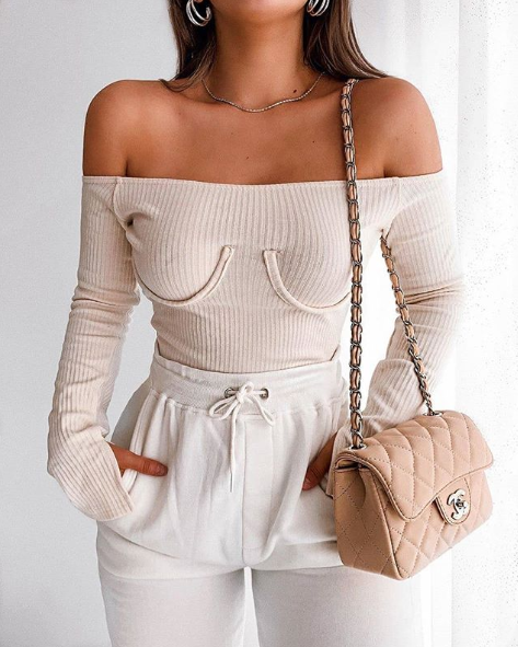 Weird underwired bra top confuses everyone. Photo: Boohoo.