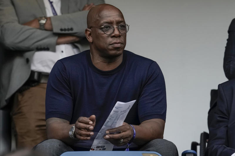 LE HAVRE, FRANCE - JUNE 27: Ian Wright during the World Cup Women match between Norway v England at the Stade Oceane on June 27, 2019 in Le Havre France (Photo by Geert van Erven/Soccrates/Getty Images)