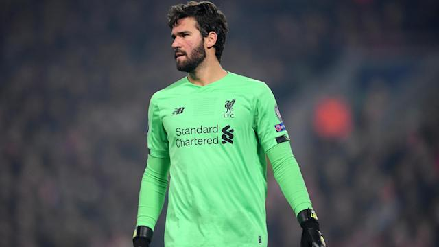 Liverpool goalkeeper Alisson knows how important Sunday's clash against Manchester City is.