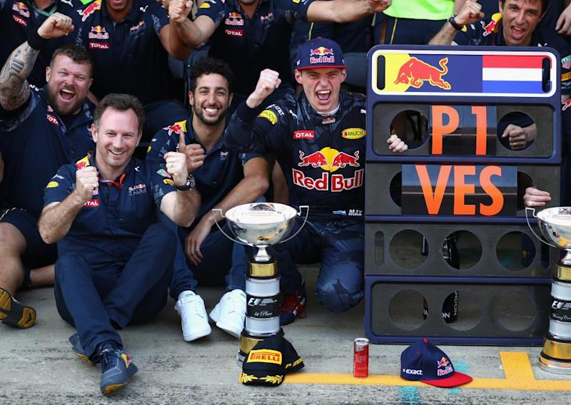 Verstappen's First Win
