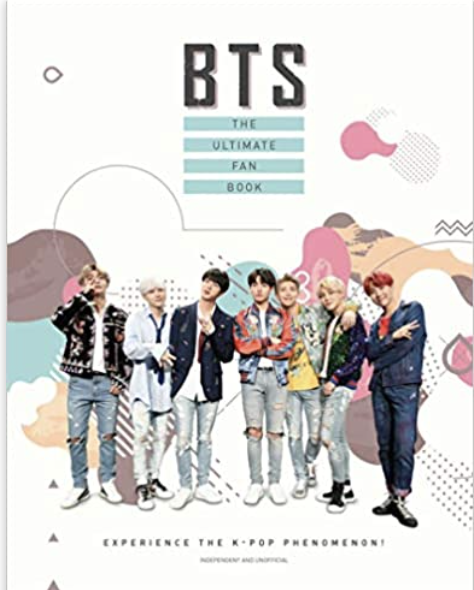 PHOTO: Amazon. BTS – The Ultimate Fan Book, Hardcover
