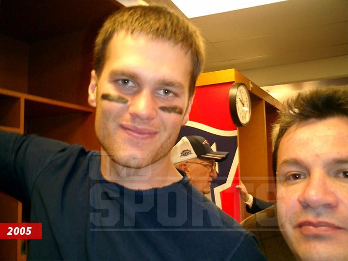 Mauricio Ortega, right, is the man suspected of stealing Tom Brady's Super Bowl jersey. (TMZ.com)