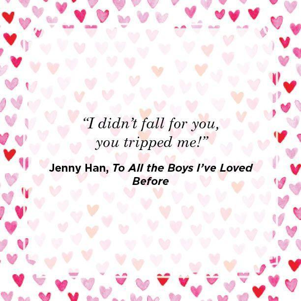 "<p>""I didn't fall for you, you tripped me!""</p>"