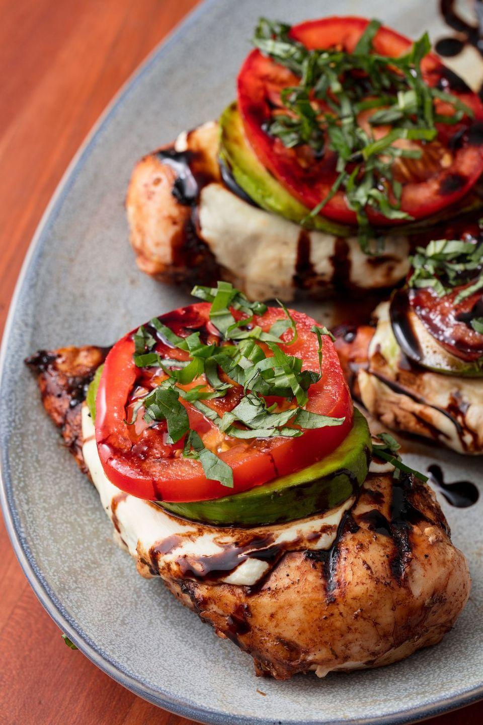 """<p>The dream team back together again.</p><p>Get the recipe from <a href=""""https://www.delish.com/cooking/recipe-ideas/recipes/a53158/california-grilled-chicken-recipe/"""" rel=""""nofollow noopener"""" target=""""_blank"""" data-ylk=""""slk:Delish"""" class=""""link rapid-noclick-resp"""">Delish</a>.</p>"""