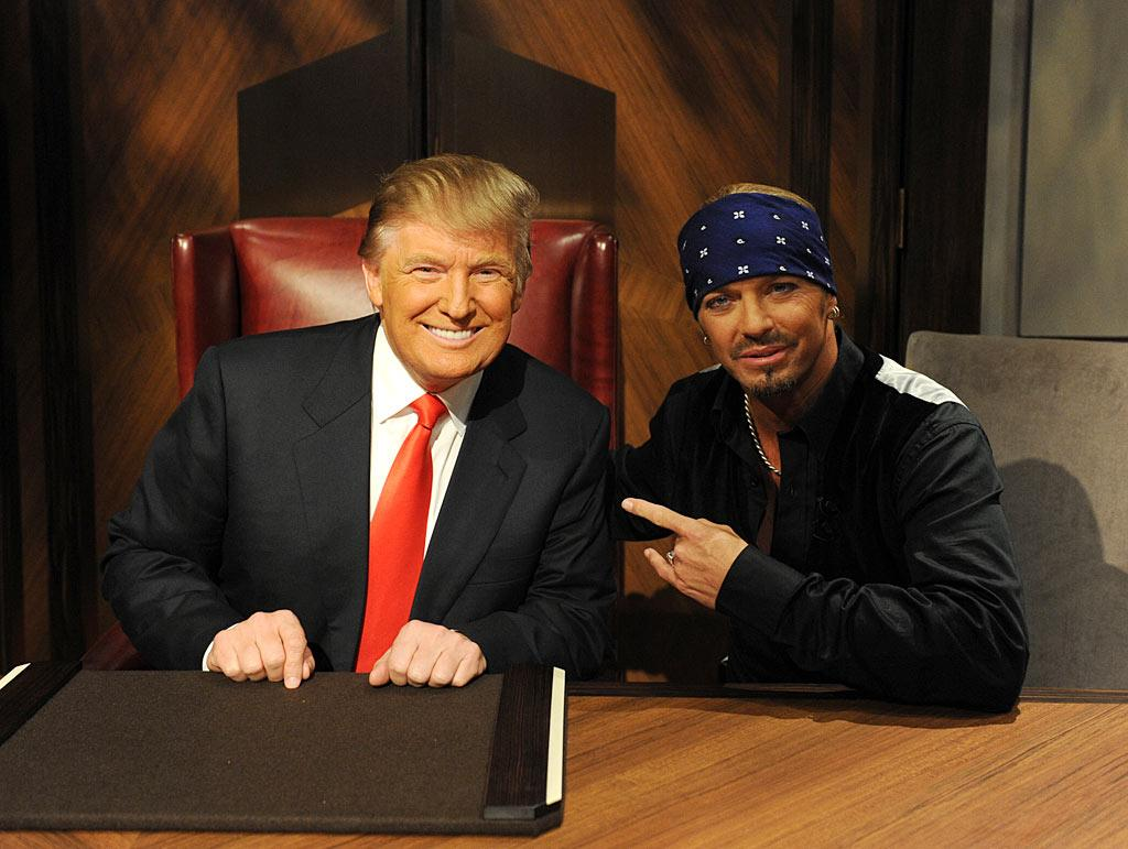 """It was reality show finale week in Hollywood, where winners were announced on shows from """"The Biggest Loser"""" to """"American Idol."""" After suffering a brain hemorrhage and a stroke over the past few weeks, rocker Bret Michaels was """"hired"""" by Donald Trump on """"The Celebrity Apprentice."""" Elated after his win Sunday night, Michaels declared, """"I came here to show Donald Trump I could rock and that I could hold my own and work hard."""" Ali Goldstein/NBC"""