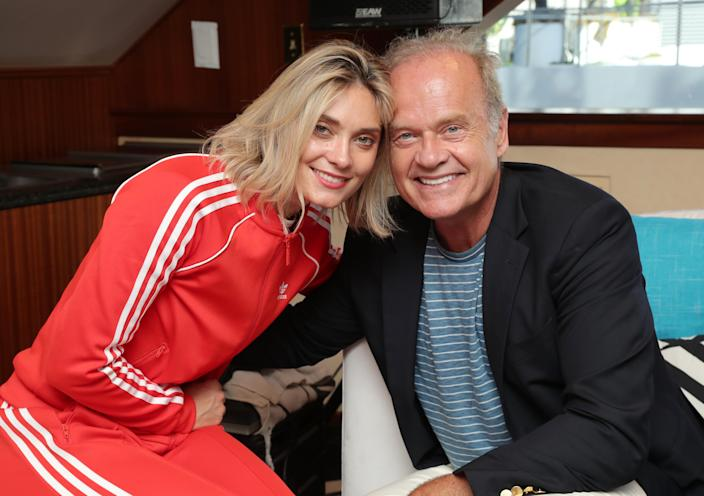 Spencer Grammer and Kelsey Grammer attend the #IMDboat at San Diego Comic-Con 2019. (Rich Polk/Getty Images for IMDb)