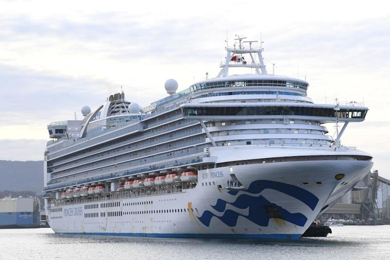 Ruby Princess passengers launch class action. Source: Getty