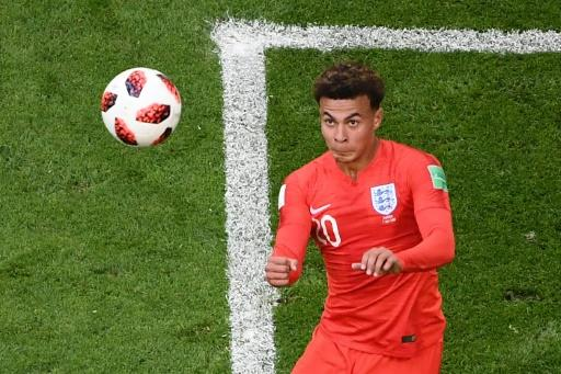 Dele Alli scores the second goal for England as they beat Sweden to reach the World Cup semi-finals