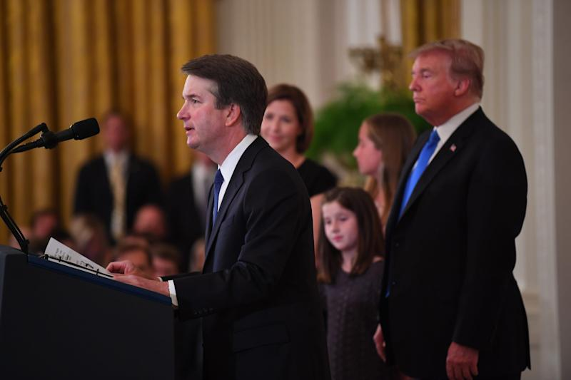 Brett Kavanaugh battled allegations of sexual assault after President Trump nominated him to the Supreme Court.
