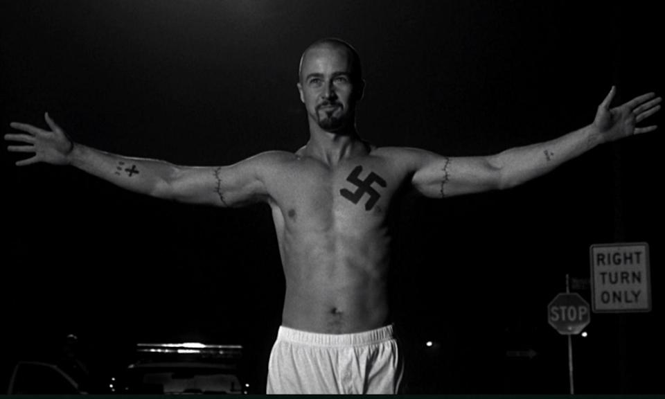 <p><span>Dir: Tony Kaye</span><br><span>Edward Norton earned an Oscar nomination for his performance as a violent neo-Nazi who is reformed after a troubling time in prison. Edward Furlong played his younger brother, who is on the same racist path but through the mentorship of his black principal he sees the error of his ways. However, there are scenes too horrible to want to witness twice; the first being a man getting curb-stomped and another being gang-raped in prison.</span> </p>