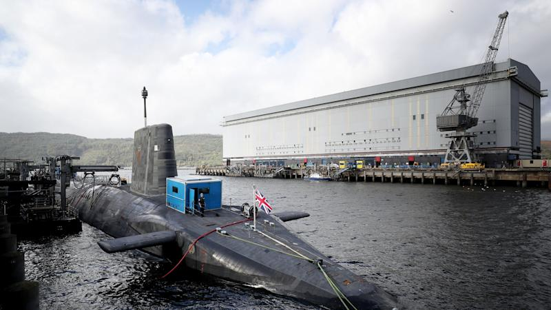 Several people self-isolating at Faslane nuclear base